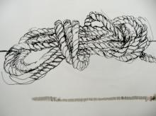 Rope - Ink drawing 2006
