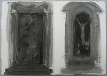 Drawing Book studies  Venice  pen and wash - 2009