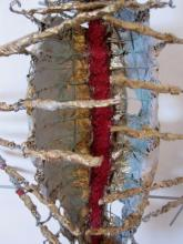 Royal Boat  wire-paper-glue-paint  2009